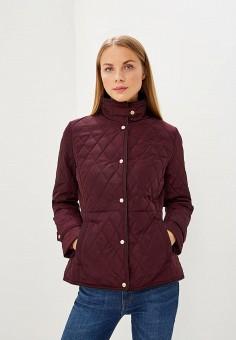 Куртка утепленная, Lauren Ralph Lauren, цвет: бордовый. Артикул: LA079EWBXEL7. Одежда / Верхняя одежда / Демисезонные куртки