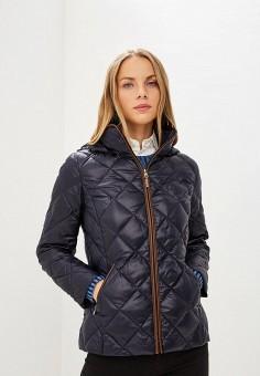 Пуховик, Lauren Ralph Lauren, цвет: синий. Артикул: LA079EWBXEM0. Premium / Одежда / Верхняя одежда / Зимние куртки