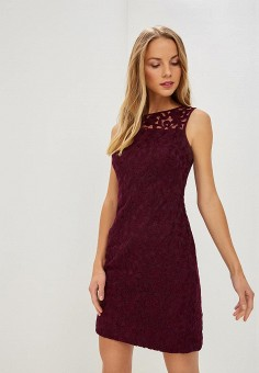 Платье, Lauren Ralph Lauren, цвет: фиолетовый. Артикул: LA079EWCAQW9. Одежда / Платья и сарафаны
