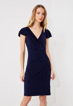 Платье, Lauren Ralph Lauren, цвет: синий. Артикул: LA079EWZLG29. Premium / Одежда / Платья и сарафаны