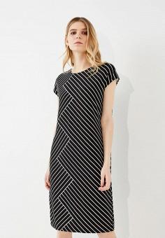 Платье, Lauren Ralph Lauren, цвет: черный. Артикул: LA079EWZLG46. Premium / Одежда / Платья и сарафаны