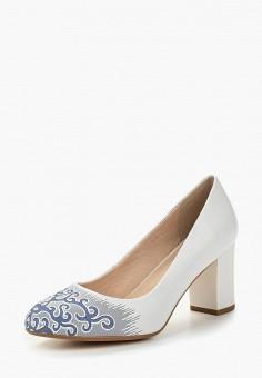 Туфли, Laura Valorosa, цвет: белый. Артикул: LA948AWAVNT5. Обувь / Туфли / Закрытые туфли