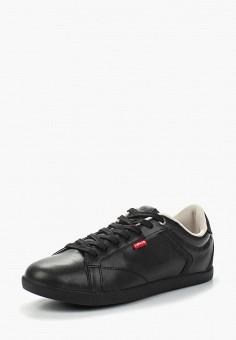 Кеды, Levi's®, цвет: черный. Артикул: LE306AMAWZL6. Обувь / Кроссовки и кеды / Кеды