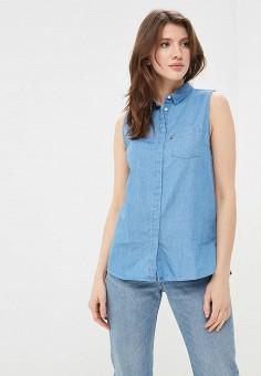 Рубашка джинсовая, Levi's®, цвет: синий. Артикул: LE306EWADGK9. Одежда