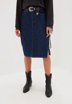 Юбка джинсовая Levi's® 5236300020, цвет синий