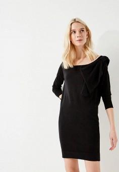 Платье, Liu Jo, цвет: черный. Артикул: LI003EWZHE93. Premium / Одежда / Платья и сарафаны