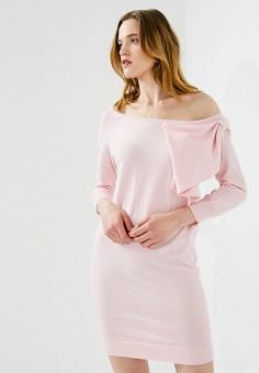 Платье, Liu Jo, цвет: розовый. Артикул: LI003EWZHE95. Premium / Одежда / Платья и сарафаны