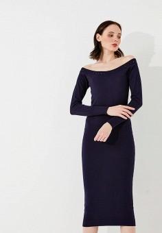 Платье, Liu Jo, цвет: синий. Артикул: LI003EWZHE96. Premium / Одежда / Платья и сарафаны