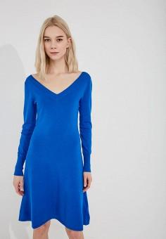 Платье, Liu Jo, цвет: синий. Артикул: LI003EWZHF00. Premium / Одежда / Платья и сарафаны