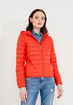 Пуховик, Liu Jo, цвет: красный. Артикул: LI003EWZHF18. Premium / Одежда / Верхняя одежда / Зимние куртки