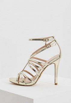 Босоножки, Liu Jo, цвет: золотой. Артикул: LI687AWAESE6. Premium / Обувь / Босоножки