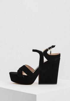 Босоножки, Liu Jo, цвет: черный. Артикул: LI687AWAESE9. Premium / Обувь / Босоножки