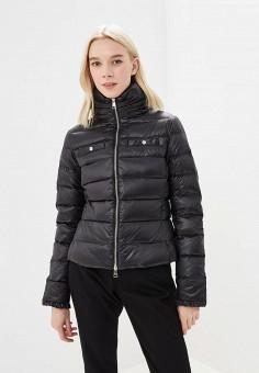 Пуховик, Liu Jo, цвет: черный. Артикул: LI687EWBSPV6. Одежда / Верхняя одежда / Зимние куртки