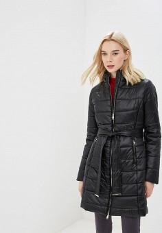 Куртка утепленная, Liu Jo, цвет: черный. Артикул: LI687EWBSPX5. Одежда / Верхняя одежда / Зимние куртки