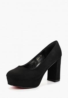 Туфли, Lino Marano, цвет: черный. Артикул: LI826AWCJCU7. Обувь / Туфли / Закрытые туфли