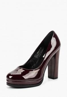 Туфли, Lino Marano, цвет: бордовый. Артикул: LI826AWCJCV1. Обувь / Туфли / Закрытые туфли