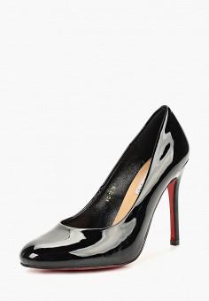 Туфли, Lino Marano, цвет: черный. Артикул: LI826AWCOQY3. Обувь / Туфли / Закрытые туфли