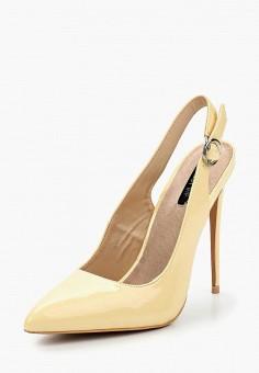 Туфли, LOST INK, цвет: желтый. Артикул: LO019AWAJTW6. Обувь