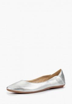 Балетки, LOST INK, цвет: серебряный. Артикул: LO019AWCDSX5. Обувь