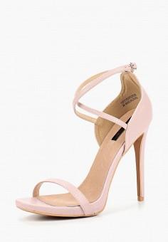 Босоножки, LOST INK, цвет: розовый. Артикул: LO019AWCDSY0. Обувь