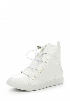Кеды, LOST INK, цвет: белый. Артикул: LO019AWODR40. Обувь / Кроссовки и кеды