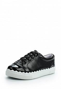 Кеды, LOST INK, цвет: черный. Артикул: LO019AWOPS27. Обувь / Кроссовки и кеды