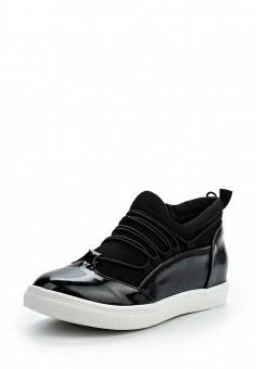 Кеды, LOST INK, цвет: черный. Артикул: LO019AWOPS33. Обувь / Кроссовки и кеды