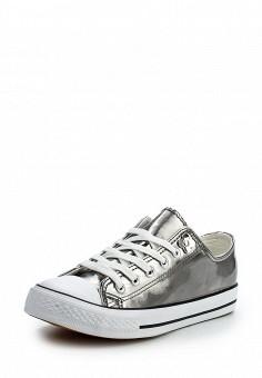 Кеды, LOST INK, цвет: серебряный. Артикул: LO019AWOPS50. Обувь / Кроссовки и кеды