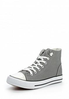 Кеды, LOST INK, цвет: серый. Артикул: LO019AWOPS51. Обувь / Кроссовки и кеды