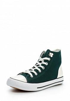 Кеды, LOST INK, цвет: зеленый. Артикул: LO019AWOPS52. Обувь / Кроссовки и кеды