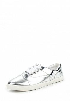 Кеды, LOST INK, цвет: серебряный. Артикул: LO019AWOSG36. Обувь / Кроссовки и кеды