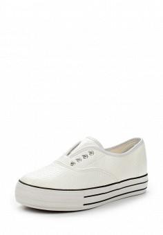Кеды, LOST INK, цвет: белый. Артикул: LO019AWVSO44. Обувь / Кроссовки и кеды