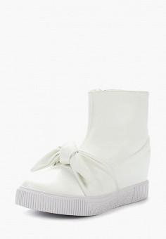 Кеды, LOST INK, цвет: белый. Артикул: LO019AWZFC35. Обувь / Кроссовки и кеды / Кеды