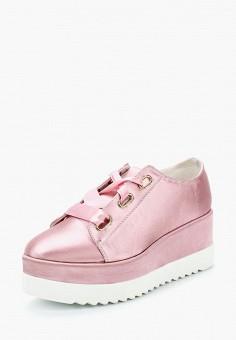 Кеды, LOST INK, цвет: розовый. Артикул: LO019AWZFC36. Обувь / Кроссовки и кеды / Кеды