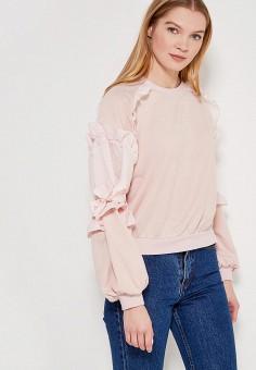Свитшот, LOST INK, цвет: розовый. Артикул: LO019EWAHLN7. Одежда / Толстовки и свитшоты