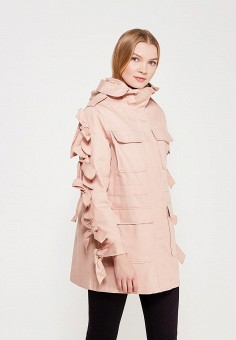 Парка, LOST INK, цвет: розовый. Артикул: LO019EWAHVD3. Одежда / Верхняя одежда / Парки