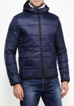 Куртка утепленная, Five Basics, цвет: синий. Артикул: LO019EWJOT69. Одежда / Верхняя одежда / Пуховики и зимние куртки