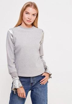 Свитшот, LOST INK, цвет: серый. Артикул: LO019EWWMP36. Одежда / Толстовки и свитшоты