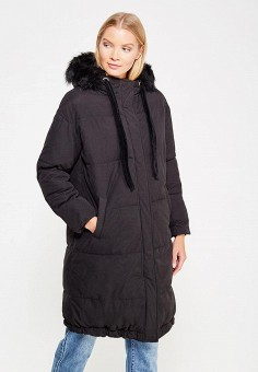 Куртка утепленная, LOST INK, цвет: черный. Артикул: LO019EWXNC49. Одежда / Верхняя одежда