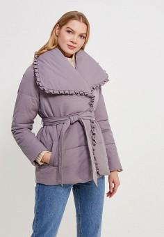 Куртка утепленная, LOST INK, цвет: серый. Артикул: LO019EWZOR44. Одежда / Верхняя одежда / Демисезонные куртки