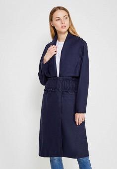 Пальто, LOST INK, цвет: синий. Артикул: LO019EWZSK35. Одежда / Верхняя одежда / Пальто
