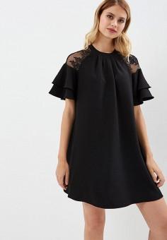 Платье, Love Republic, цвет: черный. Артикул: LO022EWBVNV2. Одежда / Платья и сарафаны