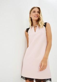 Платье, Love Republic, цвет: розовый. Артикул: LO022EWBVON6. Одежда / Платья и сарафаны