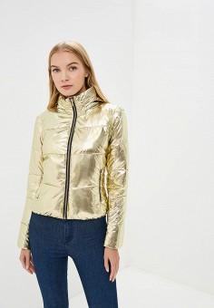 Куртка утепленная, Love Republic, цвет: золотой. Артикул: LO022EWBVPD8. Одежда / Верхняя одежда / Демисезонные куртки