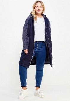 Куртка утепленная, LOST INK PLUS, цвет: синий. Артикул: LO035EWYBP54. Одежда / Верхняя одежда
