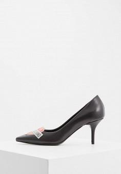 Туфли, Love Moschino, цвет: черный. Артикул: LO416AWBRGR3. Обувь