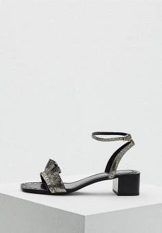 Босоножки, Lola Cruz, цвет: золотой. Артикул: LO688AWAZHT3. Premium / Обувь / Босоножки