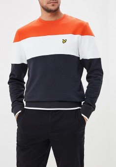 Свитшот, Lyle & Scott, цвет: мультиколор. Артикул: LY001EMAKIK8. Lyle & Scott