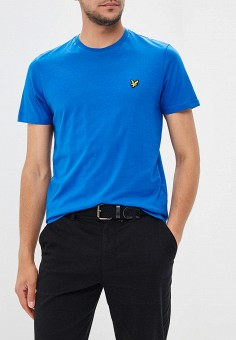Футболка, Lyle & Scott, цвет: синий. Артикул: LY001EMAKLP1. Lyle & Scott