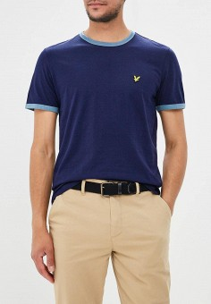 Футболка, Lyle & Scott, цвет: синий. Артикул: LY001EMAKLP5. Lyle & Scott